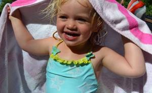 Sommer, sol og bading på Solåsen